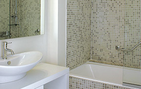 lekdetectie badkamer